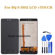 Bq s5032 lcd 디스플레이 터치 스크린 디지타이저 구성 요소 교체 bq 5032 bqs 5032 BQS 5032 lcd 패널 수리 부품