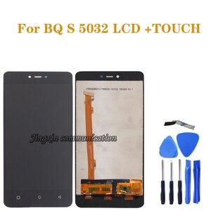 Image 1 - Pour BQ S5032 LCD écran tactile numériseur composant remplacement pour BQ 5032 BQS 5032 BQS 5032 LCD panneau pièces de réparation
