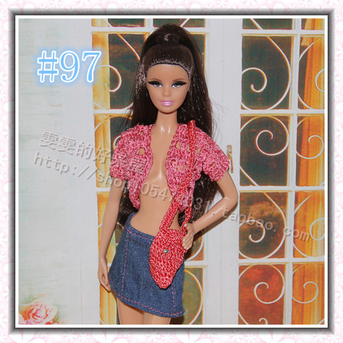 30cm Doll Dress Fashion Clothes handmade outfit For Barbie Doll Accessories Baby Toys Best Girl' Gift 12