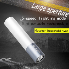 USB Rechargeable Flashlight 5 Mode Tactical Outdoor Camping Adventure Portable LED