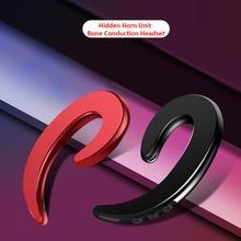 Wireless Bluetooth 4.2 Earphones Bone Conduction Headset Light Sports Headphone Driving Earpiece Soft earbuds with Mic