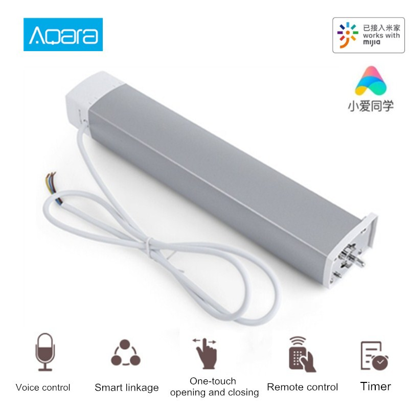 Hot DealsAqara Smart-Curtain-Motor Remote-Control Mi Home-App Wireless Timing Intelligent Zigbee
