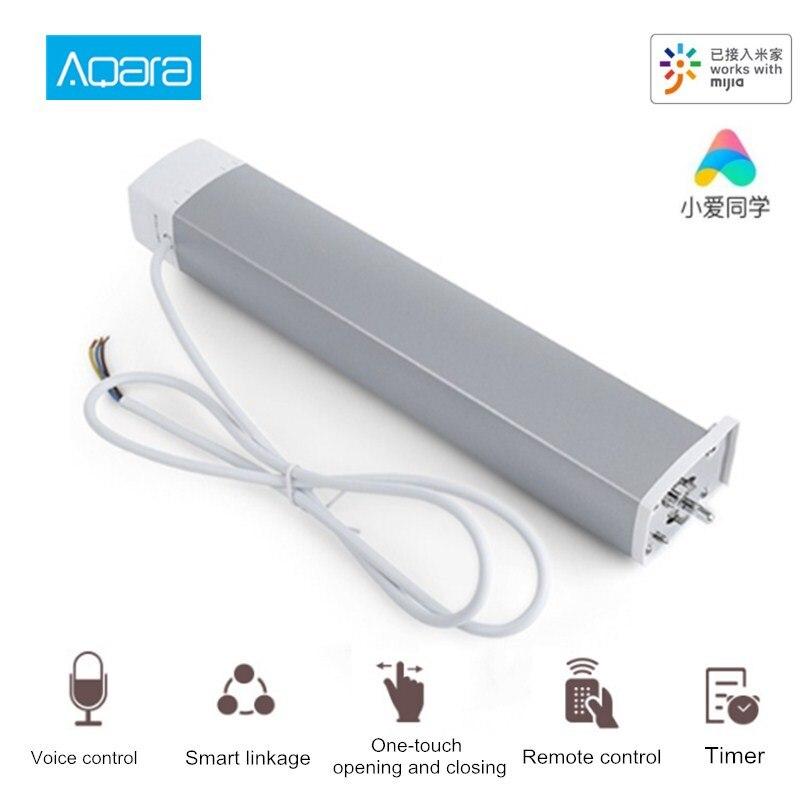 Motor de cortina inteligente Aqara Zigbee Mi aplicación para hogares Control remoto inalámbrico Ti mi ng Motor de cortina eléctrica