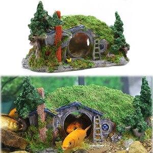House Shelter Aquarium Decorat