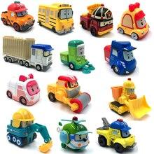 23 Style Robocar Poli Korea Kids Toys Robot Poli Roy Haley Anime Metal Action Figure Toys Car For Children Best Gift