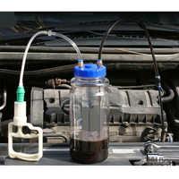 2L Durable Kunststoff Universal Autos Saug Mit Tick Mark Öl Ändern Große Kapazität Werkzeuge Manuelle Pumpe Auto Schlauch Tragbare