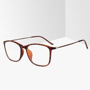 Image 3 - BCLEAR moda TR90 okulary ramki mężczyzn lub kobiet Ultralight Unisex plac zwykły szkło okulary męskie oprawki na okulary Hot