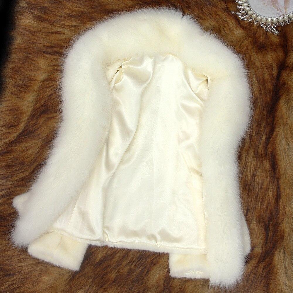 KLV Fur Coat Winter Coat Women's Ball Party Dress Long Sleeves Skirt Printing Christmas Costumes дубленка Free Shipping D4