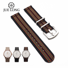 High Quali Nylon Wristband Strap For Xiaomi Amazfit Stratos 2 2S Pace Straps Bip Watchband Samsung Gear S3 S2 Galaxy