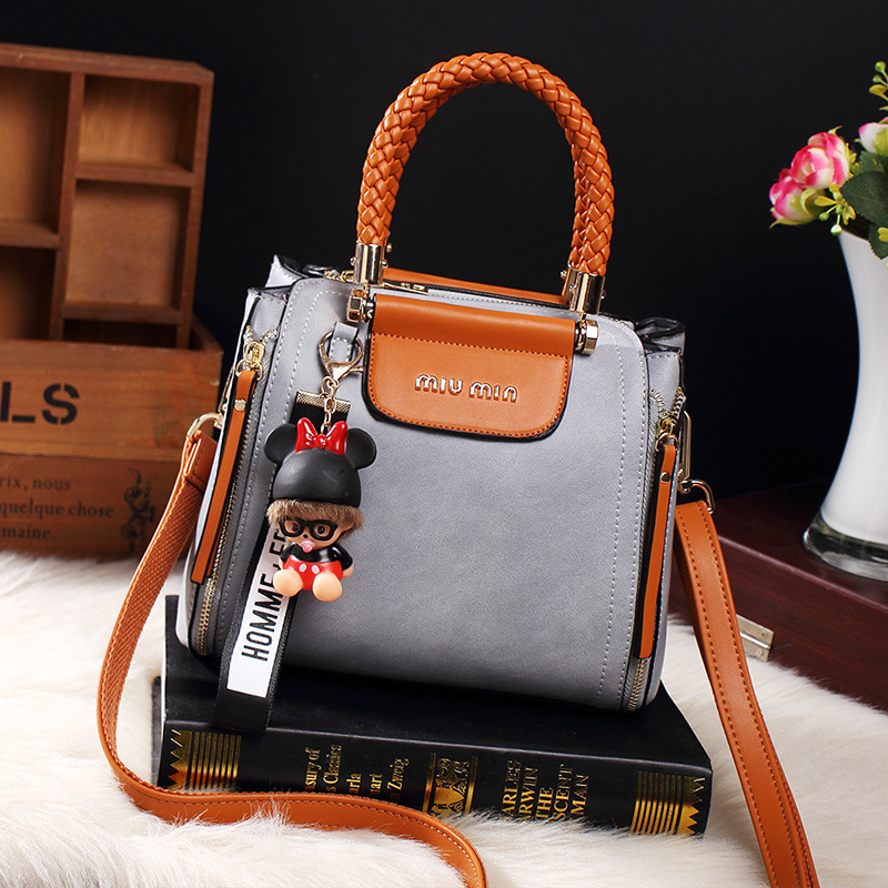 Fashion Ladies Tote Handbag Vintage Bags For Women 2019 Leather 