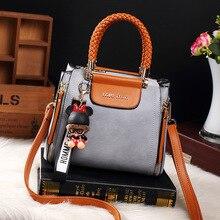 Mode Damen Tote Handtasche Vintage Taschen Für Frauen 2019 Leder Frau Messenger Schulter Hand Tasche Crossbody Luxus Designer AB16