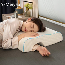 Couple Pillow Slow Rebound Memory Foam Pressure Pillow Anti-Hand Paralysis Pillow Protection Cervical Pillow Dropshipping 20#1
