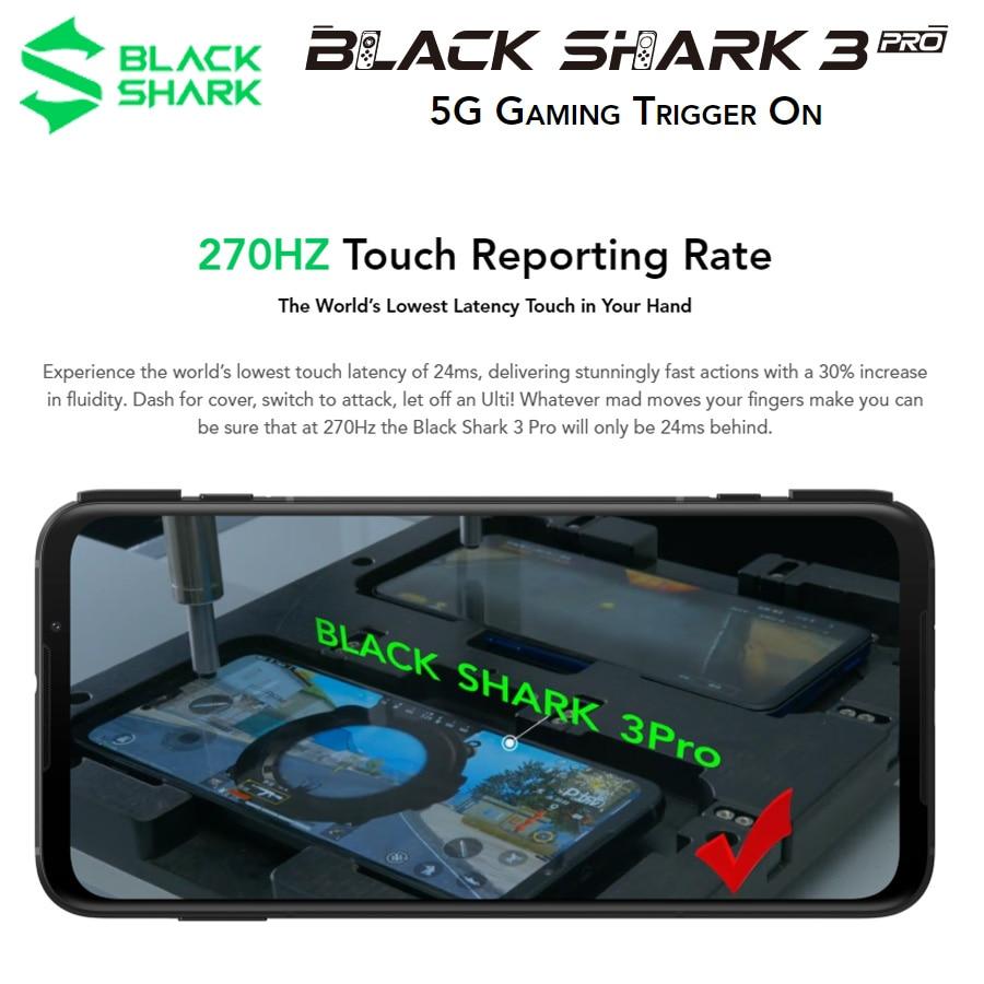 New Xiaomi Black Shark 3 Pro 5G Game Mobile Phone Global Version 7.1