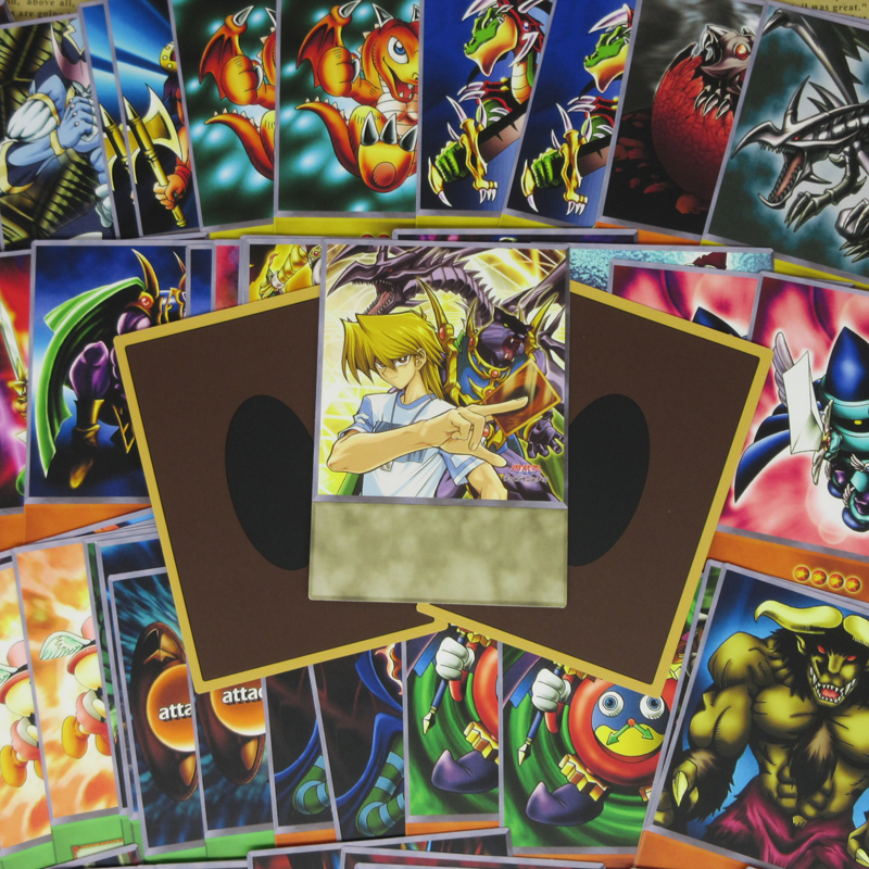 63pcs/set Joey Wheeler Anime Deck Yugioh Character Katsuya Jonouchi Duelist Card Red-Eyes Black Dragon Classic Game Paper Cards image