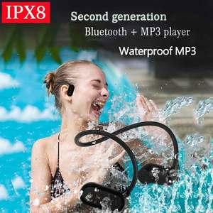 Image 5 - Mới Nhất APT X V31 Dẫn Truyền Xương Bluetooth 5.0 Với MP3 Người Chơi IPX8 Chống Nước Bơi Thể Thao Tai Nghe Nhét Tai MP3 Nghe Nhạc