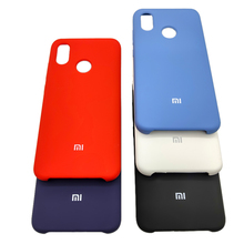 Xiaomi Mi 8 Case Silky Soft-Touch Finish Case Back Liquid Silicone Pro
