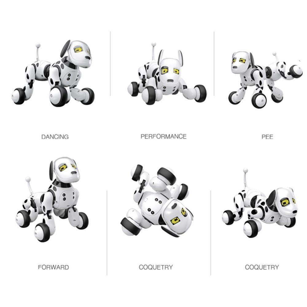 2020 New Remote Control Smart Robot Dog Programable 2.4G Wireless Kids Toy Intelligent Talking Robot Dog Electronic Pet kid Gift 4