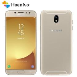 Oryginalny Samsung Galaxy J7 Pro unlocked GSM 4G LTE telefon komórkowy z androidem octa core Dual Sim 5.5