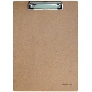 Mu Ban Jia Deli 9226 Wooden Material Writing Board Clip A4 Wooden Ping Jia Office Supplies Bulletin Board
