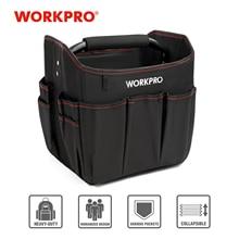 """WORKPRO 10 """"küçük alet el çantası katlanabilir alet setleri çantası omuzdan askili çanta çanta alet düzenleyici saklama çantası"""