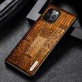 Чехол Langsidi из натуральной кожи для Iphone 12 Pro, противоударный чехол для Iphone 12 Pro Max, чехлы для 12 Mini Xr Xs Max 8plus