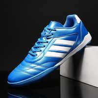 Heißer Verkauf Unisex Rasen Fußball Schuhe Indoor Junge Sport Schuhe Komfortable Fußball Mens Trainer Günstige Jugend Stollen Fußball Schuh