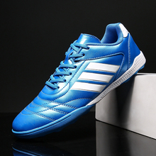 Hot Sale Unisex Turf Soccer Shoes Indoor Boy Sport Shoes Comfortable Football Mens Trainers Cheap Youth Cleats Football Shoe soccer shoes children boy girl new hot sale rubber soccer outdoor sport athletics breathable comfortable children shoes