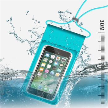 Sporty wodne wodoodporna mobilna wodoodporna torebka na telefon z ekranem dotykowym torba pływająca etui na telefon pokrowiec na telefon komórkowy uchwyt do nurkowania Surfing tanie i dobre opinie Spadabravo Torba na ramię WQZ256