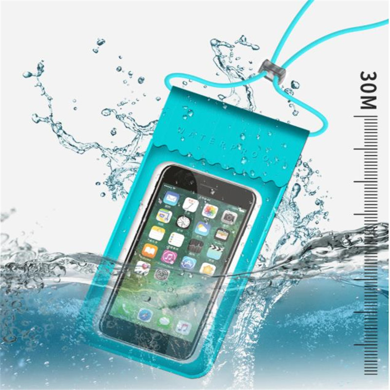 Water Sports Waterproof Mobile Phone Dry Bag Touch Screen Swimming Bag Phone Case Cellphone Pouch Holder Diving Surfing