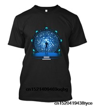 Hot 2018 Summer T Shirt Fashion New Stargate Portal Movie Sg-1 Atlantis Tv Serie Stargate T Shirt