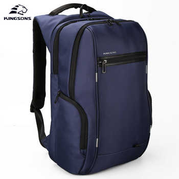 Kingsons KS3140W 13.3 15.6  17.3 inch Men Women's Multi-function Laptop Backpack Business Leisure Travel School Bags Backpack - DISCOUNT ITEM  50% OFF All Category