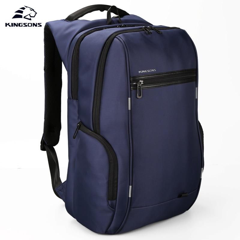 Kingsons KS3140W 13.3 15.6 17.3 pouces hommes femmes multi-fonction sac à dos pour ordinateur portable affaires loisirs voyage sacs d'école sac à dos