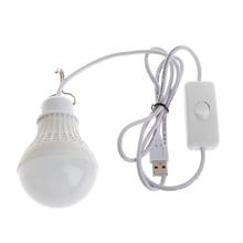 5 Вт 10 светодиодный Энергосберегающая лампочка USB светильник для кемпинга Дома ночные крючки для лампы Переключатель Прямая поставка поддержка
