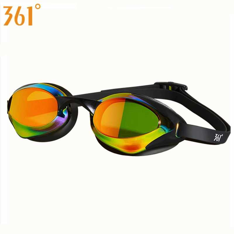 361 Swimming Goggles Men's Mirrored Swimming Glasses Waterproof Pool Swiming Glasses Anti Fog Racing Swim Eyewear for Kids