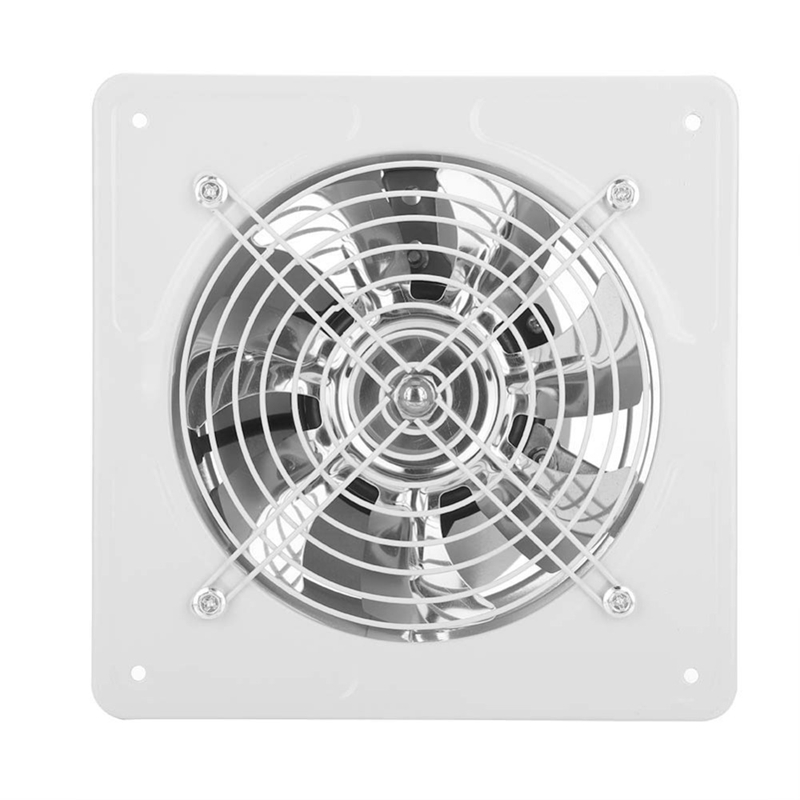 40W 220V Exhaust Fan 6 Inch Exhauster Wall Mounted Low Noise Home Bathroom Kitchen Air Vent Ventilation Extractor US Plug