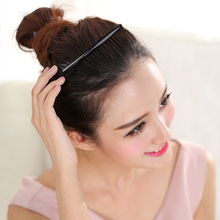 WEILAI Professional Female Role Black Curve Clip Pin Invisible Bang Fringe Hair Comb Hair Korean Style Accessories