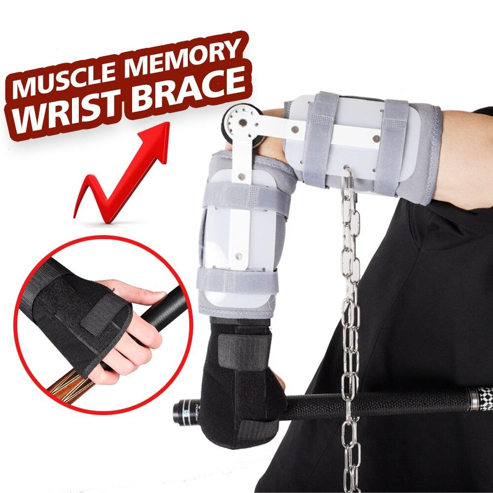 Billiard Grip Trainer Shot Left Right Hand Training Tool Apparatus Wrist Strap Fixed Gloves Integrated Wrist Billiard Accessory