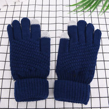 1 Pair Touch Screen Gloves For Men Women Warmer Smartphones For Driving Gloves Soft Knitting Elasticity Winter Gloves(China)
