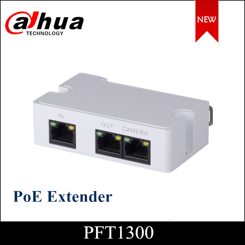 Dahua PoE Extender DH-PFT1300 Support IEEE 802.3af/at Standard Power Supply IP Camera Ip Camera Accessory For Ip Systems