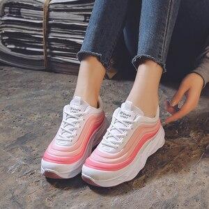 Image 4 - Scarpe da Donna Scarpe da Ginnastica di Moda di Spessore Inferiore Della Piattaforma Delle Donne Scarpe da Ginnastica Appartamenti Femminile Casual Scarpe da Donna Zapatos De Mujer Dropshipping