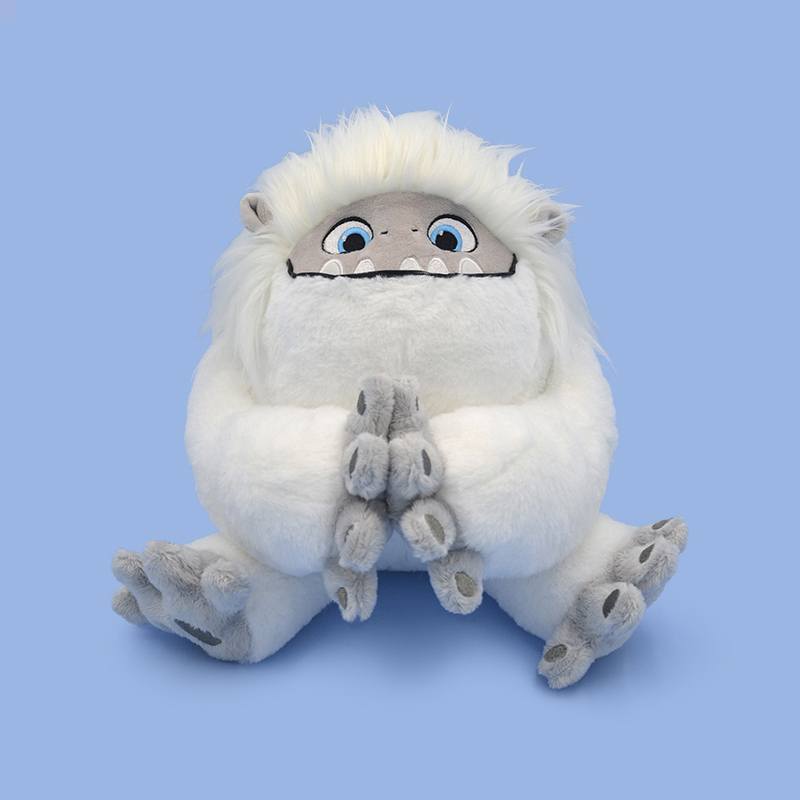 Hot Sale Movie Abominable Snowman Yeti Doll Pillow Cushion Soft Stuffed Doll Toys Christmas Gifts For Baby Gift Stuffed Doll