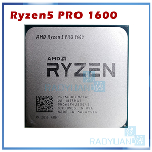 Image 2 - AMD procesador de CPU AMD Ryzen 5 1600 R5 1600 R5 PRO 1600 3,2 GHz, seis núcleos, 12 hilos, 65W, YD1600BBM6IAE YD160BBBM6IAE Socket AM4