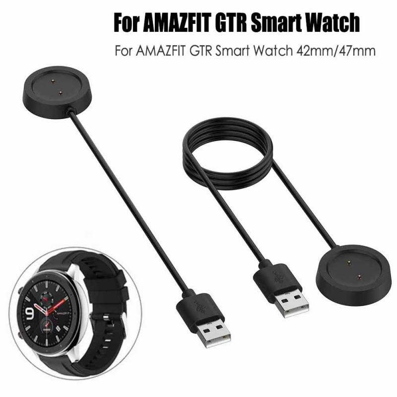 Cradle Dock Charger For Xiaomi Huami Amazfit GTR 47 42mm 1909 Smart Watch Smart Bracelet USB Charging Cable Data Sync Cord