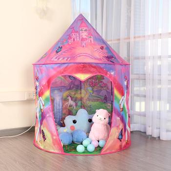 Namiot zabaw dla dzieci chłopiec dziewczyny kryty zamek przenośny składany odkryty piłka dla niemowląt basen dom namiot tipi dla dzieci zabawki dla dzieci namiot tanie i dobre opinie Senodeer Poliester CN (pochodzenie) Keep Away From Fire 13-24 miesięcy 2-4 lat 5-7 lat 6 lat KP-GT-006 Inflatable Toy Soft Toy Sports Toy