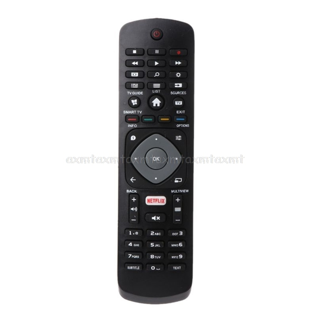 Replacement Remote Control Controller for Philips NETFLIX Smart TV 398GR08BEPHN0012HT 1635008714 43PUS6162 398GR08BEPHN0011HL