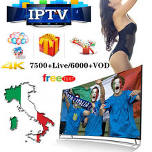 4 K IPTV Berlangganan AS/Inggris/Spanyol/Portugal/Polandia/Kanada/Bahasa Jerman 10000 + Saluran/VOD Dewasa/Olahraga/Smart TV/Android/Ios/TV Stick(China)