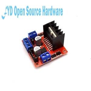 Image 2 - 1pcs L298N Motor Driver Controller Board Module Dual  H Bridge DC L298N Stepper Motor Driver for arduino