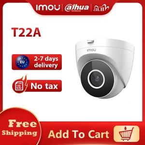 Dahua Imou IPC-T22A 1080P HD H.265 Eyeball PoE Camera Human Detection and Motion Detection Camera Easy to install