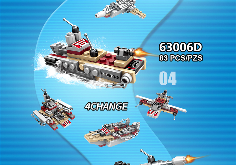 1000+ PCS Military Warship Navy Aircraft Army Figures Building Blocks LegoINGlys Army Warship Construction Bricks Children Toys (22)