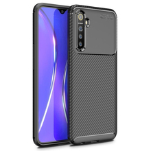 For OPPO Realme XT Pro Case Shockproof Bumper Carbon Fiber Soft Cover for OPPO Realme XT X2 Phone Cases cheap Fitted Case soft tpu cover bag coque fundas Matte Plain Dirt-resistant Anti-knock AAAAA+ High Quality TPU Silicone Mobile Phone Accessories phone bags